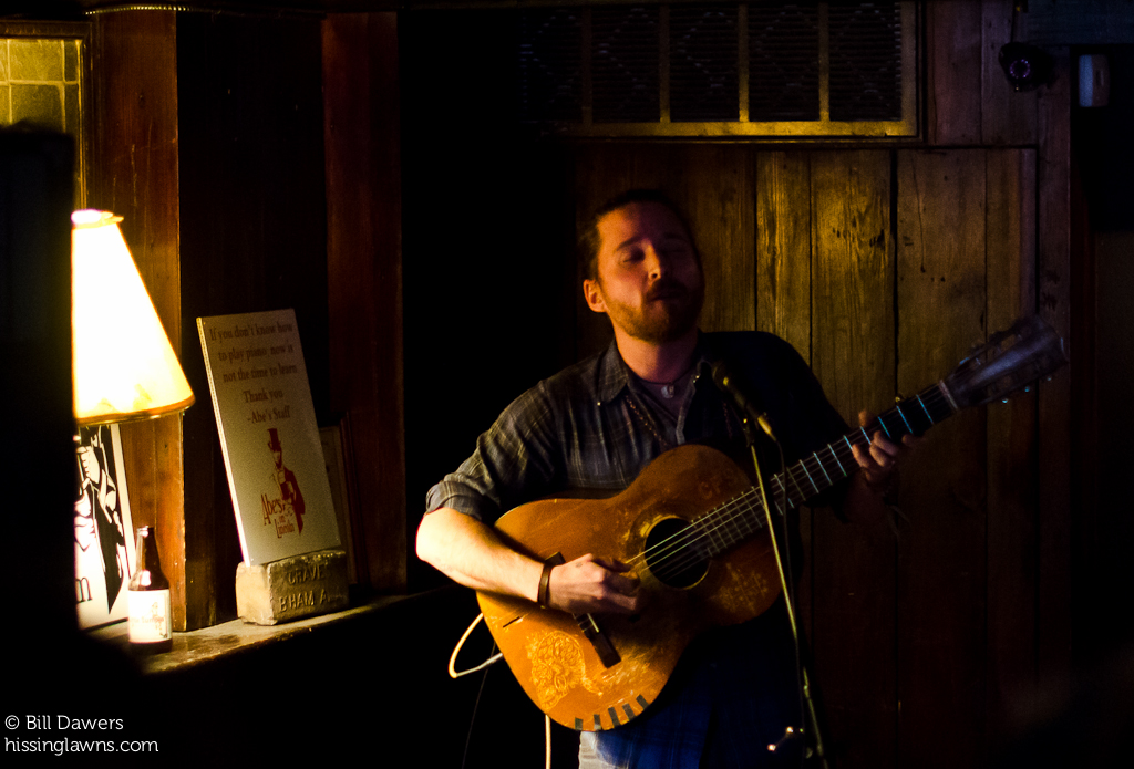 Christopher Paul Stelling at Abe's, Savannah Stopover 2013